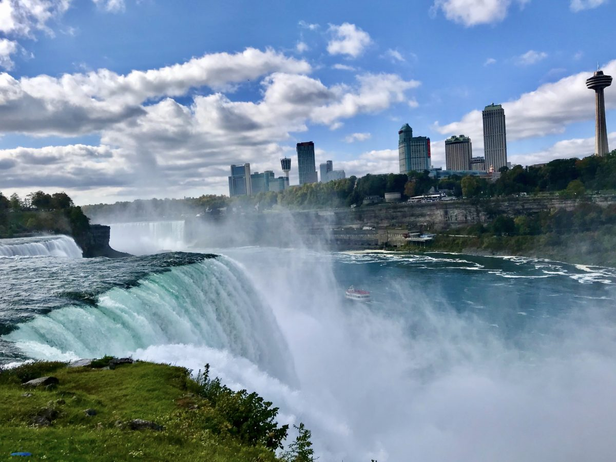 Niagara Falls and its beauty for the weekend