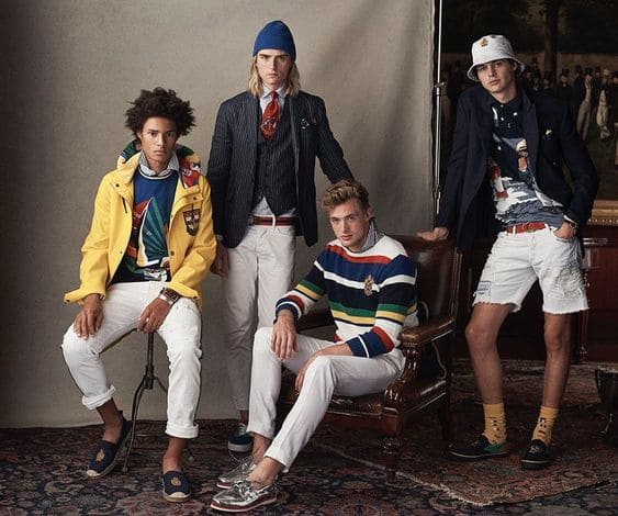 How's Ralph Lauren perceived and by who